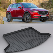 LUCKEASY Non-Slip Waterproof 3D TPO Trunk Boot Cargo Mat Recycled Durable For Mazda CX-5 2018 Car-styling