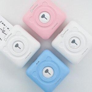 3 цвета Peripage портативный термальный Bluetooth принтер мини беспроводной POS Термальный фото принтер для Android IOS мобильного телефона