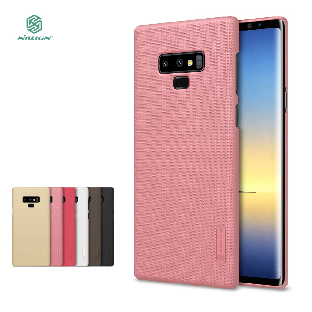 For Samsung Galaxy Note 9 case Nillkin hard case phone cases for Samsung Note 9 case protective back cover +free film