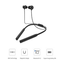 VBNM TN2 Sports Bluetooth Halter Earphone Earbuds with Neck Hang Active Noise Cancelling Wireless Headset for Phones and Music