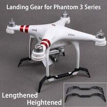 DJI Phantom 3 удлиняется повышенной посадка Шестерни Посадка Skid для DJI Phantom 3 Стандартный/advance/4 К/ профессиональный