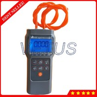Portable Digital Pressure Differential Meter Manometer With 6 Psi Piesimeter Tester 11 Selectable Scales Units AZ82062