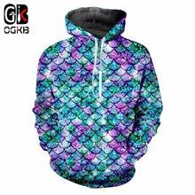 Пуловер ogkb в стиле Харадзюку для мужчин и женщин свитшот с