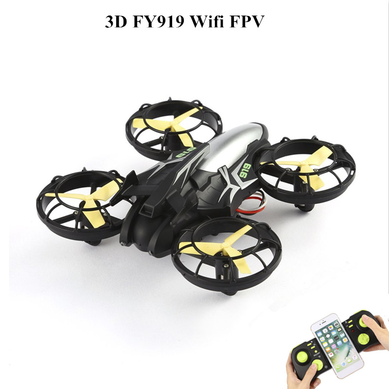 New VKIR23122 Flying 3D FY919 Wifi FPV With Optical Positioning Somatosensory Direction Mode Drone Quad Copter flying 3d fy x8 018 flying control unit for fy x8 quadcopter