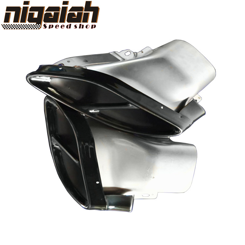 Exhaust pipes tail tips E coupe C43 2015 2016 2017 C Class W205 C200 C250 C300 c450 GLC43 450X253 W253 GLE450 gle43 w212 in Mufflers from Automobiles Motorcycles