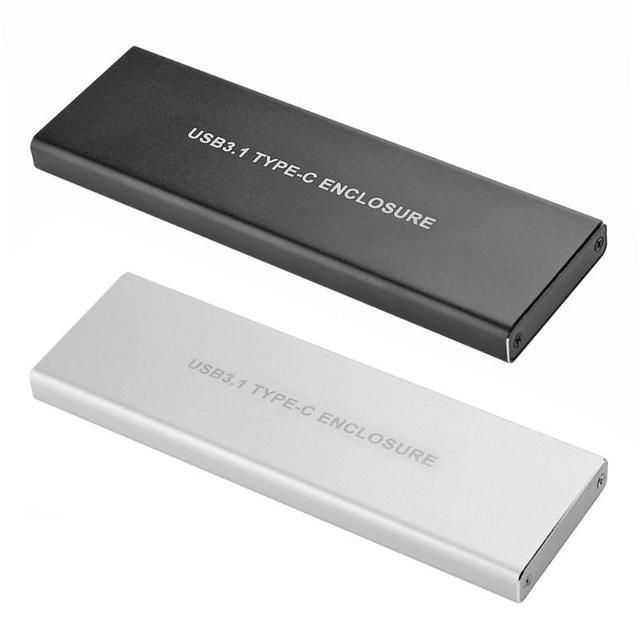 USB 3.1 Tip c NGFF M.2 Anahtar M sabit disk Sabit Disk Kutusu NGFF PCIE Adaptörü Dönüştürücü Kartı muhafaza Kutusu WinXP/Vista/Win7