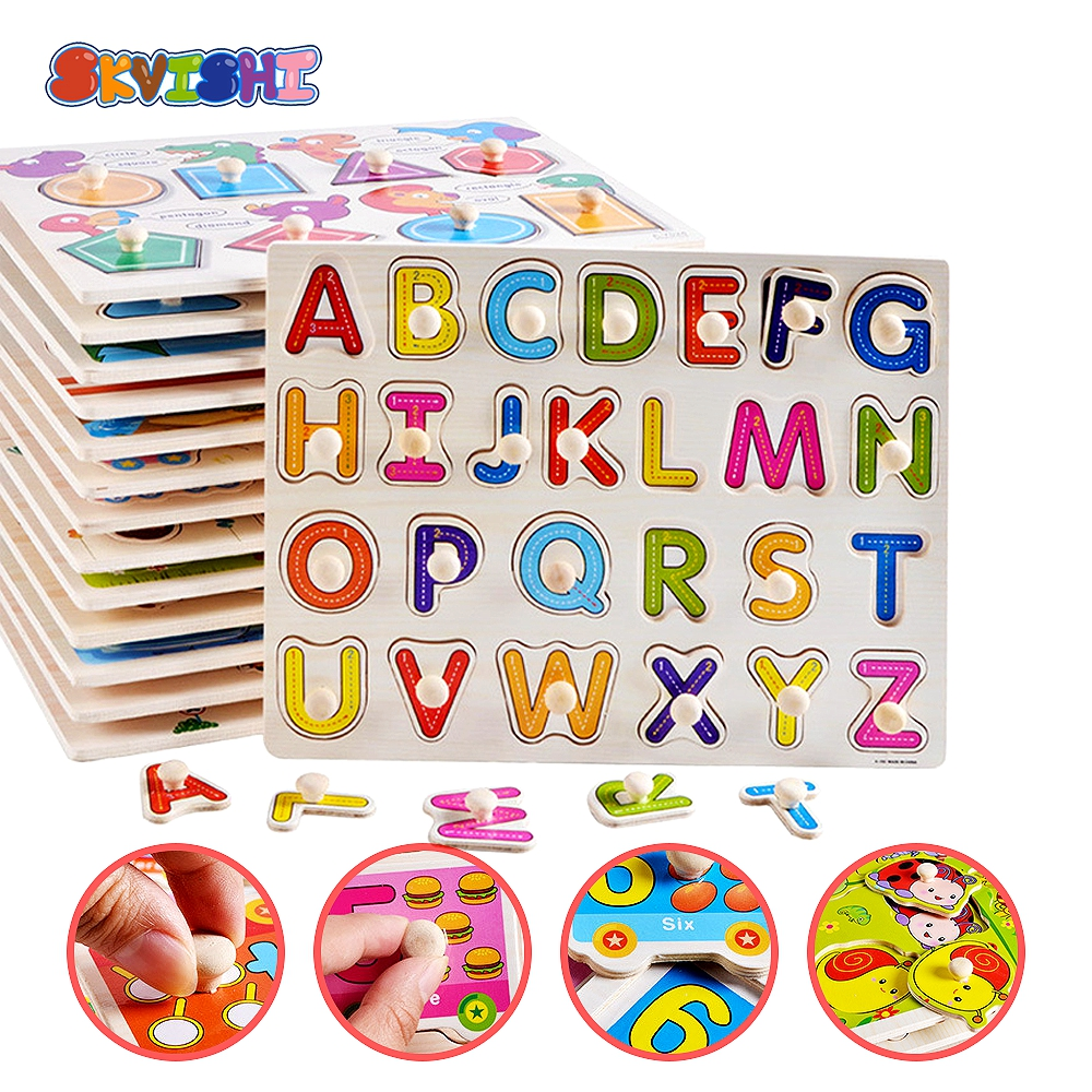 wooden toys for children kids puzzle game wood education metal puzzle perler beads mindlearning scrabble secret compartment