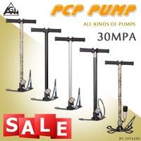 New 300bar 4500PSI paintball pcp pump Airgun PCP airrifle High Pressure Hand Pump with Air filter 40mpa Gauge caza not hill pump
