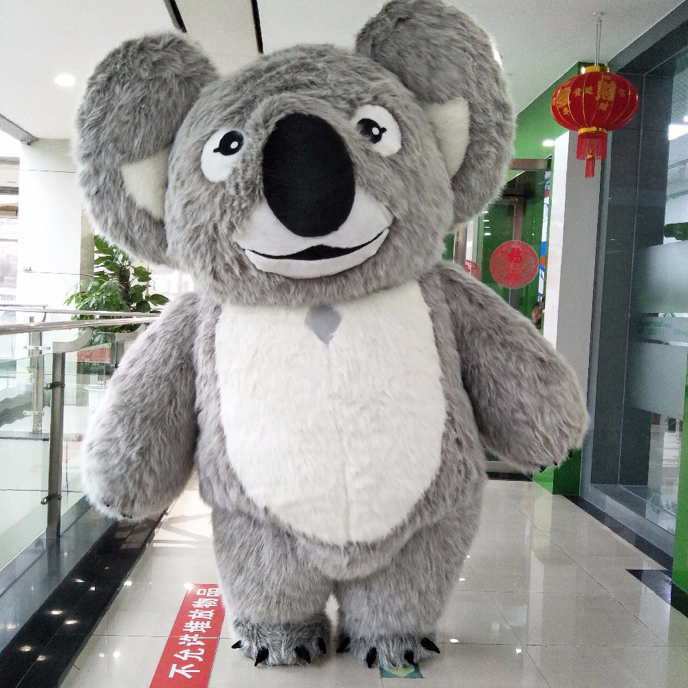New Style Koala Inflatable Costume Inflatable Koala For Advertising 2M Tall Customize For Adult Suitable For 1.6m To 1.8m Adult