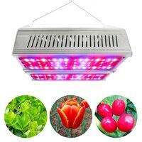 300 W светодиодный светать двойной светодиодный панелей полный спектр высокой Мощность Светодиодная лампа для парниковый эффект; Выращивани