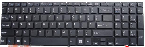 Us nuevo teclado para sony vaio svf152c29v svf153a1qt svf152 svf15a100c svf152100c svf153 svf1521q1rw teclado del ordenador portátil