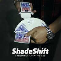 ShadeShift (Gimmick und DVD) durch SansMinds Kreative Labor/close-up street karte zaubertricks produkte spielzeug wholesale freies verschiffen