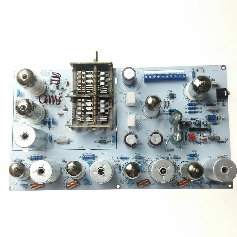 HOT SALE] 1PCS/LOT Five wave band three lamp tube shortwave