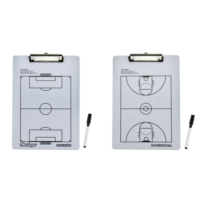 Folding Magnetic Football Soccer Coaching Board Soccer Tactics Plate Whiteboard Marker Basketball Tactics Board