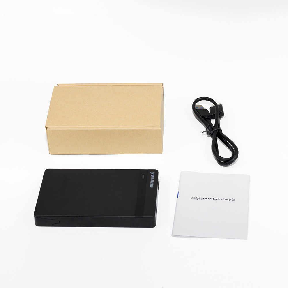 Yvonne dysk twardy 2.5 dysk twardy SATA na USB 3.0 Adapter dla dysków SSD obudowa dysku twardego twardy dysk twardy HDD z USB 3.0 kabel