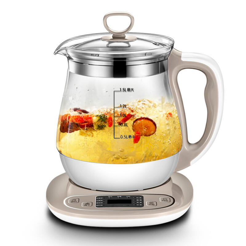 NEW Health pot full automatic thickening glass multi-functional boiling water electric kettle medicine multi function miniature health pot full automatic flower fruit tea boiling water and medicine