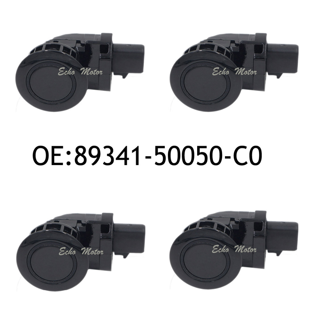 New SET(4) 89341-50050-C0 For Toyota Celsior Lexus LS430 Parking Sensor 89341-50050 Car Parking Radar 4 pcs auto parts new original ultrasonic parking sensor 89341 76010 c0 89341 76010 8934176010 for lexus gs450 hybrid