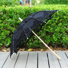 QUNYINGXIU Craft Umbrella Handmade Decoration Wedding Dance Photography Basswood Umbrella New Upscale Props Embroidered Umbrella