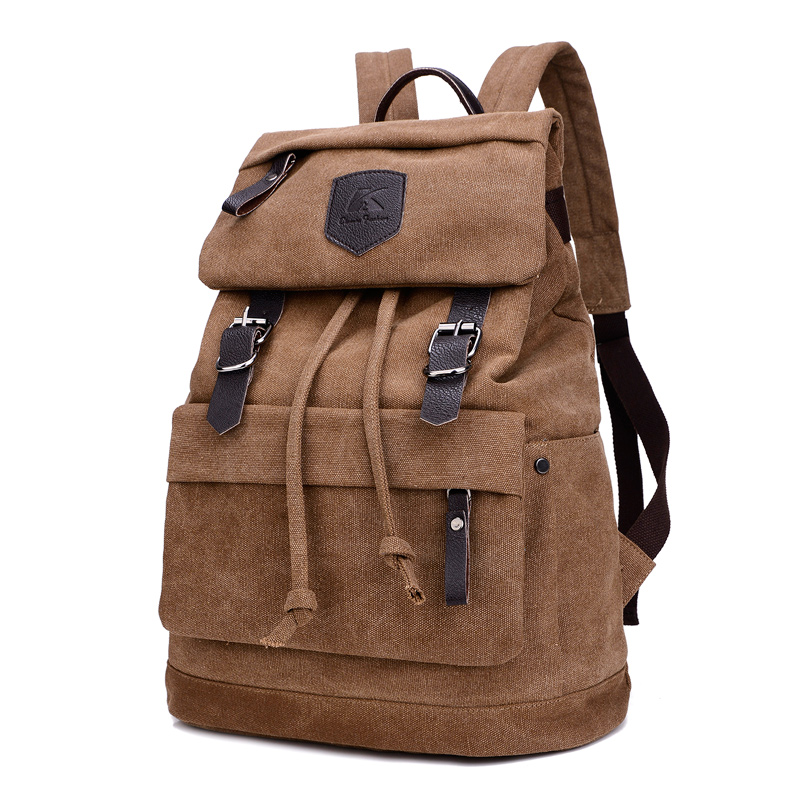 c5943baf61 1090 tela di Cotone borsa a tracolla da uomo per il tempo libero viaggi  alpinismo zaini borse per computer zaino da viaggio femmina