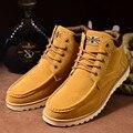 Otoño Zapatos de Los Hombres Botas Hombres Botas De Cuero Artificial Zapatos Botas Hombre Botines Negros Para Los Hombres Chaussure Homme