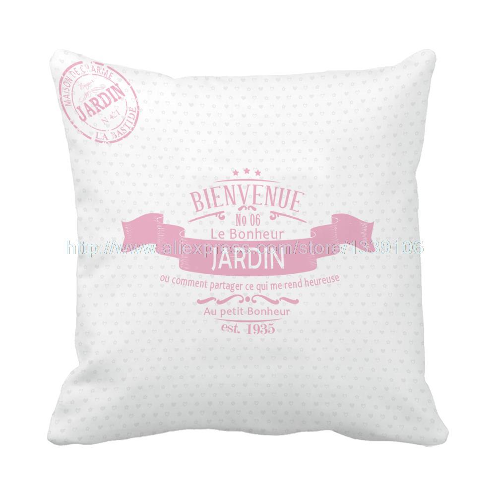 Euro Jardin Style Print Personalised Custom Pink Patio
