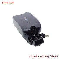 Frete grátis 250w 350w 500w 750w 1000w sapo seat post e-bike bateria sob o assento com carregador