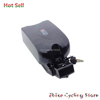 Frete grátis sapo sob o cargo do assento e-bike ebike bateria para 24v 250w 350w motor 24v 10ah 12ah 15ah 20ah bateria