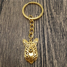 Cardigan welsh corgi Key Chains Fashion Pet Dog Jewellery Cardigan welsh corgi Car Keychain Bag Keyring For Women Men(China)