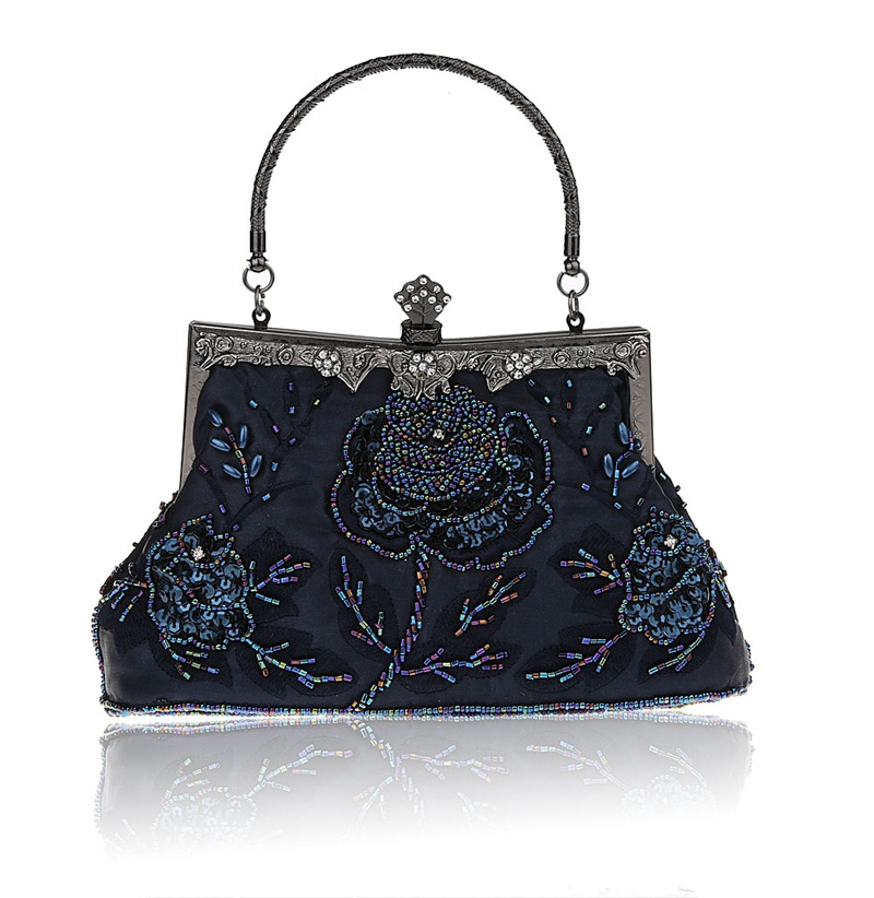 Compare Prices on Navy Evening Bags- Online Shopping/Buy Low Price ...