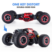 1 16 Scale Double Sided 2 4GHz RC Car One Key Transform All Terrain Off Road