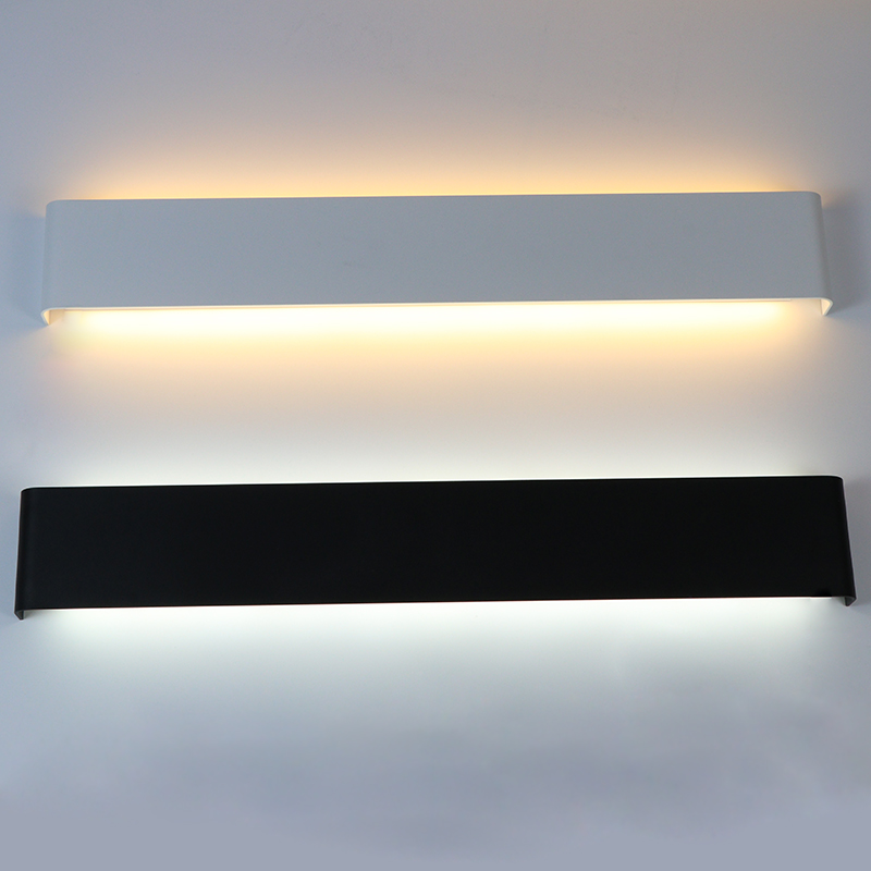 LED Wall Lamp Rectangle Bedroom Bedside Wall Light Staircase Light  Mirror Light Indoor Sconce Fixture Living Room Decoration