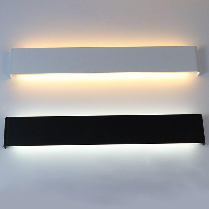 LED lâmpada de Parede Lâmpada de Parede de Cabeceira Do Quarto Retângulo Luz Arandela Luminária Escada Espelho de Luz Luz Interior Sala de estar Decoração