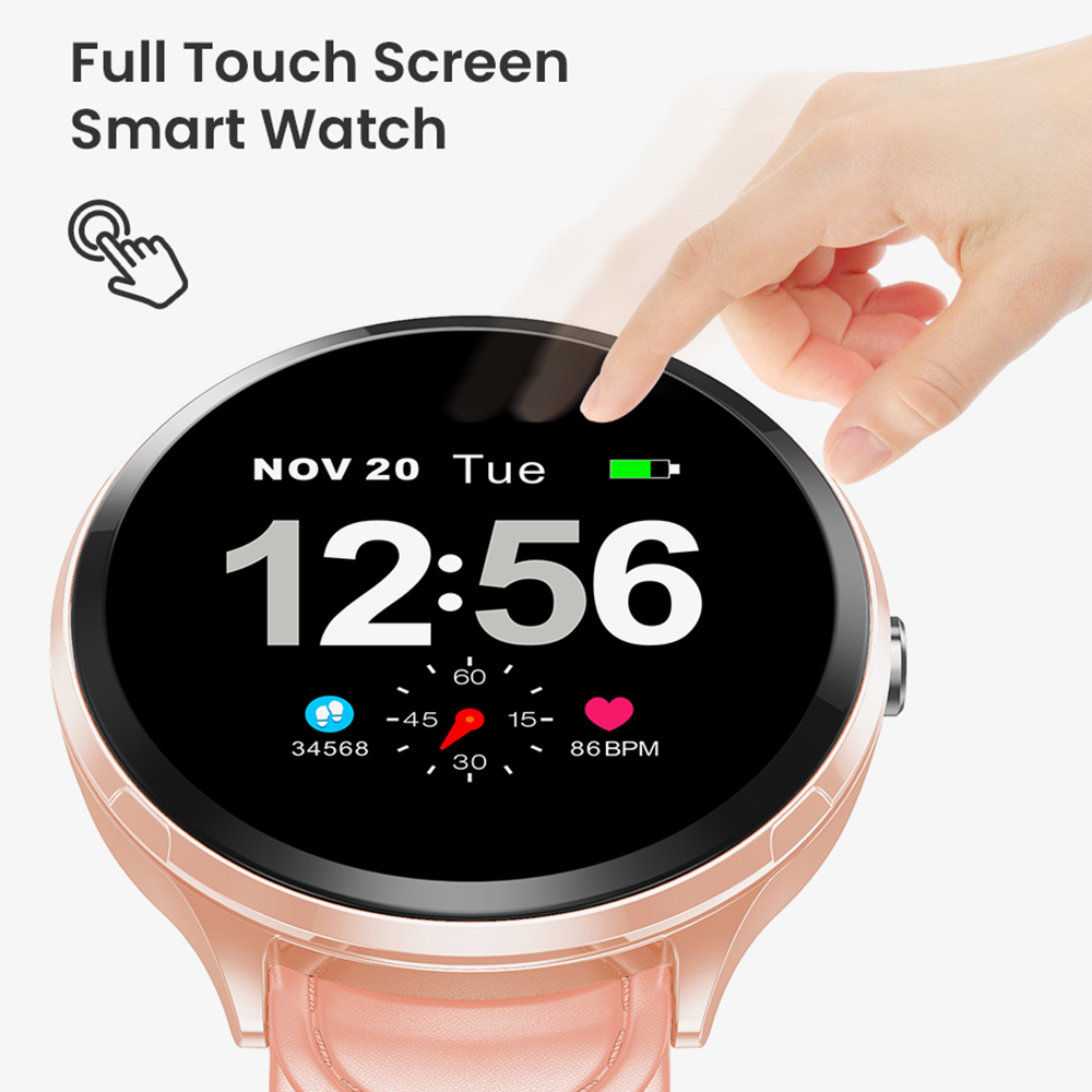 Image 2 - Virtoba 1.3'' Full Touch Screen Men Smart Watch Toughened Glass Multi Sport Modes Blood Oxygen Smartwatches PK V12 bracelet-in Smart Watches from Consumer Electronics