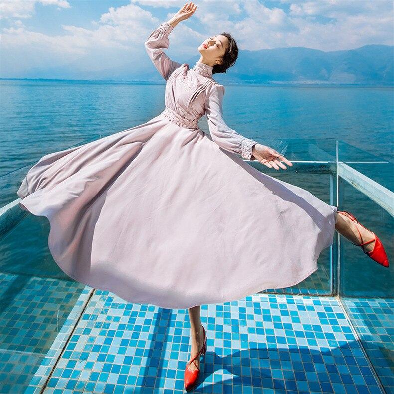 Neue Hohe Qualität Explosionen Freizeit Elegante schärpen Kleider Frauen frühling sommer Casual Shirt Kleid-in Kleider aus Damenbekleidung bei  Gruppe 2