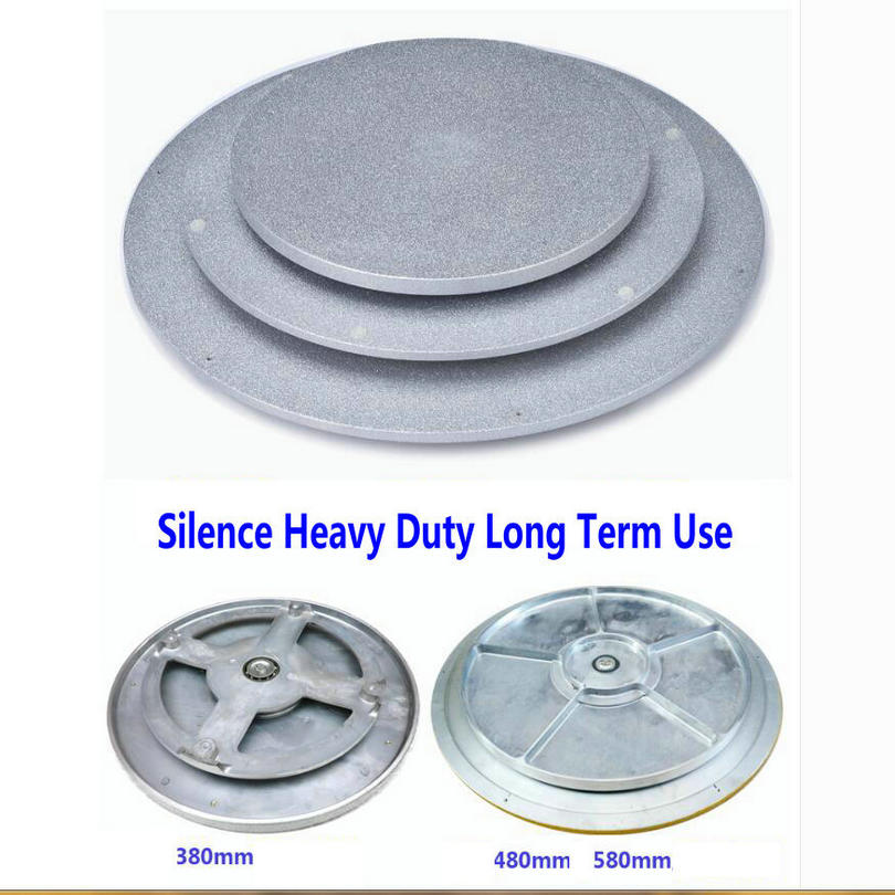 HQ IL02 Base de plateau tournant en fonte paresseux Susan pour pivotant de Table en verre/bois/marbre avec roulement à aiguilles lisse