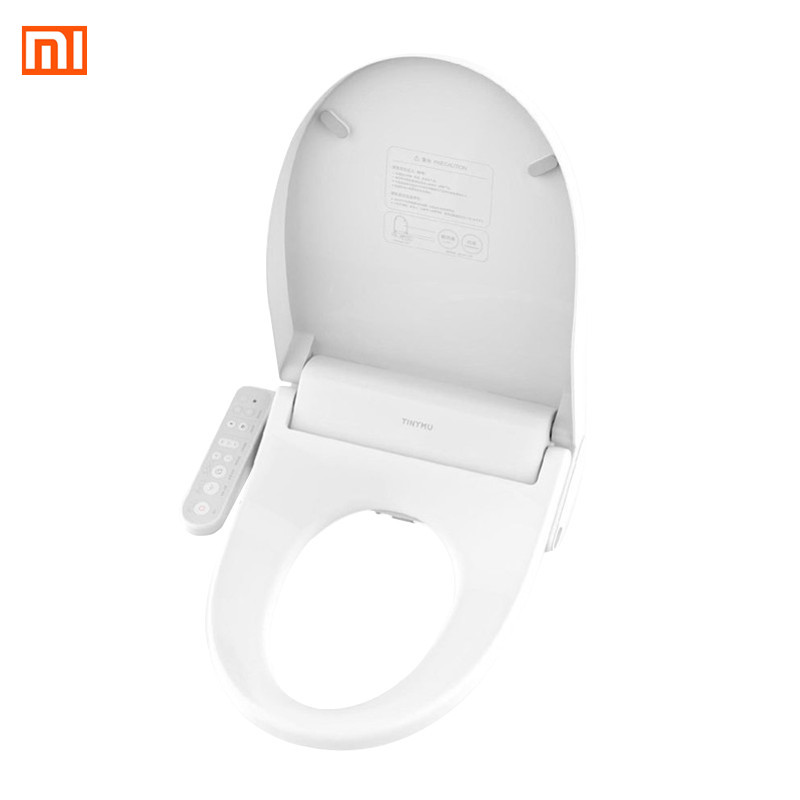 Air Conditioning Appliance Parts Xiaomi Tinymu Home Smart Anti Bacteria Toilet Seat Cn Plug Remote Control 3 Grade Adjustable Heatable Seat For Bathroom Toilet