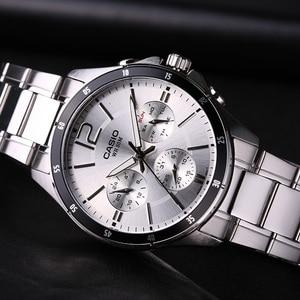 Image 3 - Casio relógio masculino, relógio de pulso para homens, série ponteiro, cronógrafo multifuncional, relógio casual para homens de negócios, MTP 1374D 7A