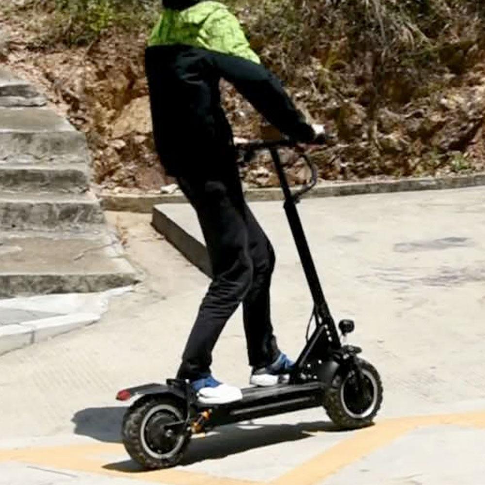 Besorgt 11 Zoll Fett Reifen Off-road 2 Rad Coco Stadt Roller Patinetes Elektrische Baratos Elektrische Motorrad Roller Citycoco 3200 W Jade Weiß Elektro-scooter Roller