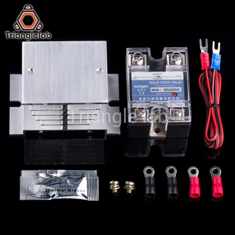 3D Printer Heated Bed Power Module High Current SSR KIT MOSFET upgrade RAMPS 1.4 reprap free shipping