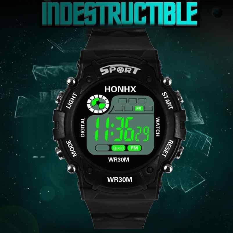 LED erkekler Analog dijital askeri ordu erkekler saatler spor su geçirmez kol saati iş Masculino Casual Saat hediye