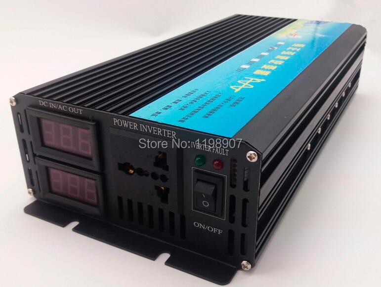 цена на electric power inverter 1000W Peak Power 2000W Solar Inverter 1000W Pure Sine Wave DC 12V to AC 220V Car Auto Power Converter