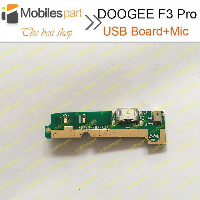 Doogee f3 pro placa usb + micrófono 100% reemplace el conjunto de fijación parte accesorios para doogee f3 original smartphone envío gratis