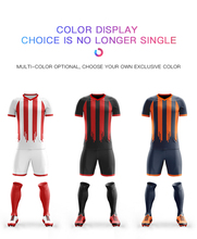 Soccer Jersey 2019 Football Kit Mens Youth Sports Suits Professional Jerseys Custom Design Tracksuit Uniform
