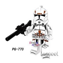 1PCS modell bausteine action figure starwars superhelden Trooper party serie diy spielzeug für kinder geschenk(China)
