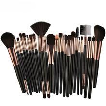 25 pcs Makeup Brushes sets foundation brushes Plastic handle colorful makeup brush kits  maquiagem Dropship 12.7