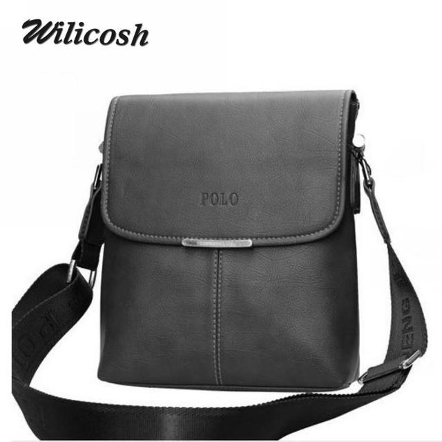 2016 Hot sale pu leather men messenger bags brand Men's Shoulder Bags fashion briefcases casual men's travel bags bolsas RM002