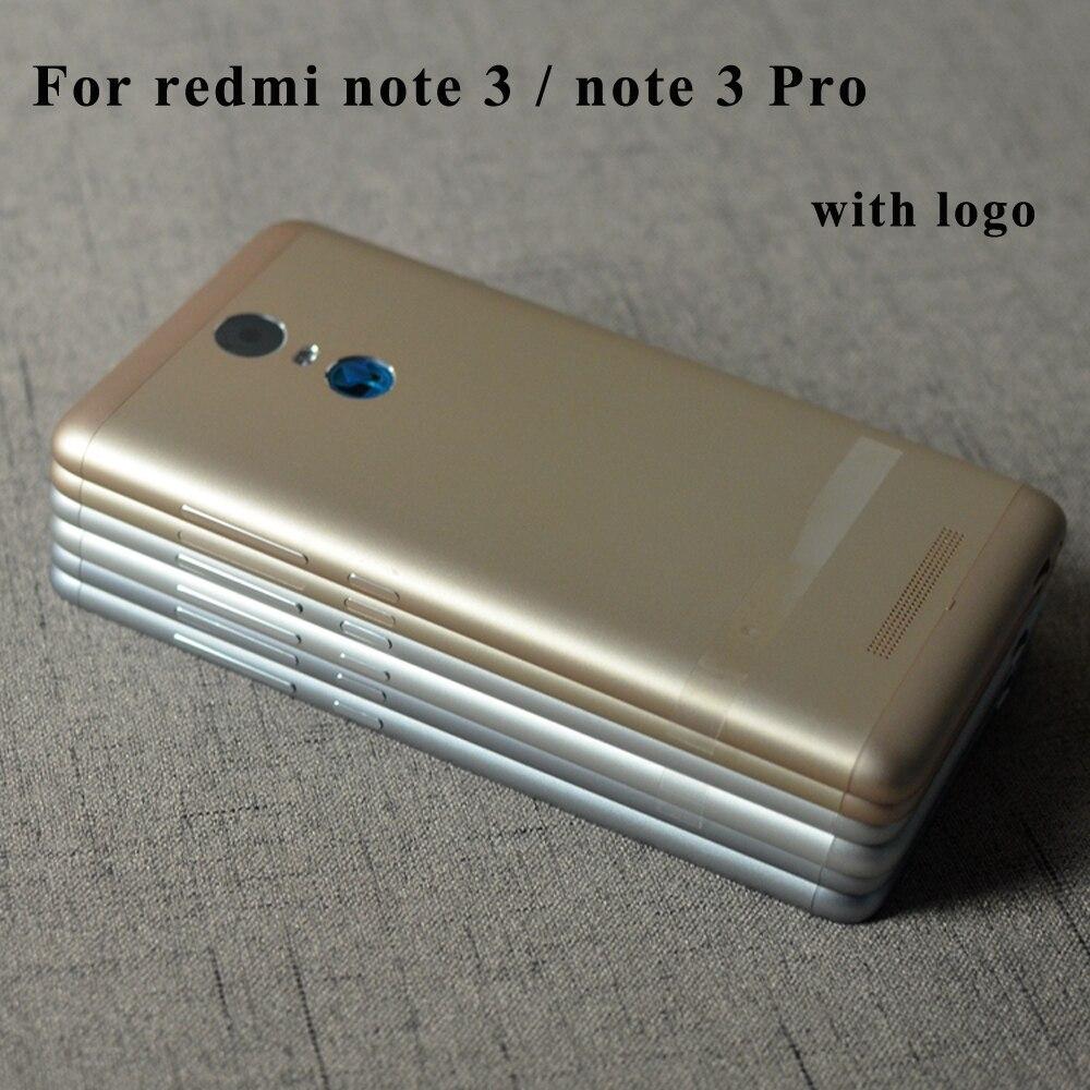 Original Volle Netzwerk Batterie Tür Zurück Cover Gehäuse Fall Für Xiaomi Redmi Hinweis 3 Pro note3 Mit Power Volumen Tasten 150mm