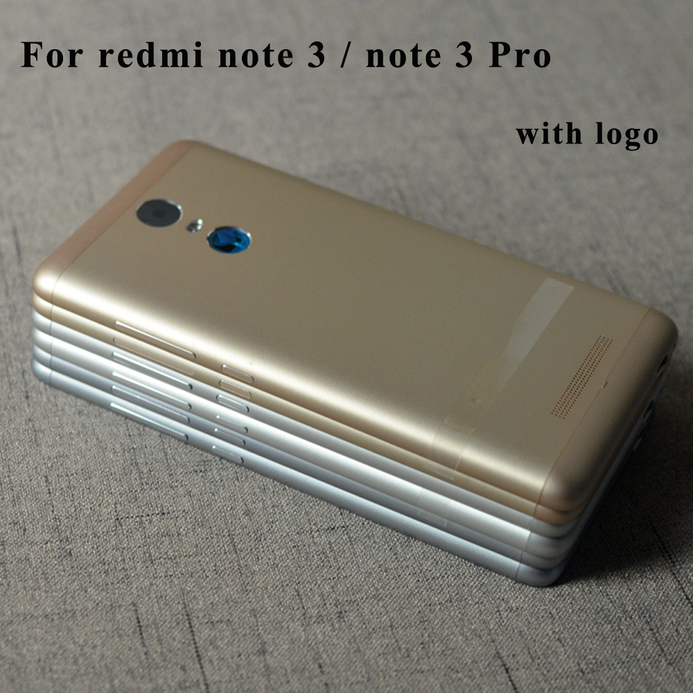 Originale Rete Completa del Portello della Batteria Della Copertura Posteriore Custodia Per Xiaomi Redmi Note 3 Pro nota3 Con Potenza Pulsanti Del Volume 152mm