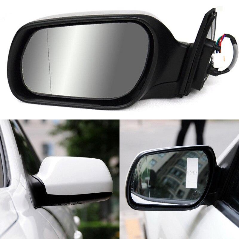 Ipoboo singal стороны Текстура Черный Автоматический складной Мощность с подогревом Оригинальные Замена сбоку Зеркало для Mazda6 Mazda 6