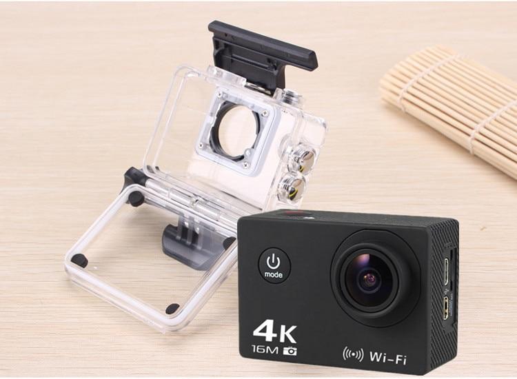 Sport DV Waterproof Action Camera Allwinner V3 SONY 179 2.0'' 30m 4K Video Camera LCD Outdoor 12MP 60FPS Diving Optional Packag v sport st580 30